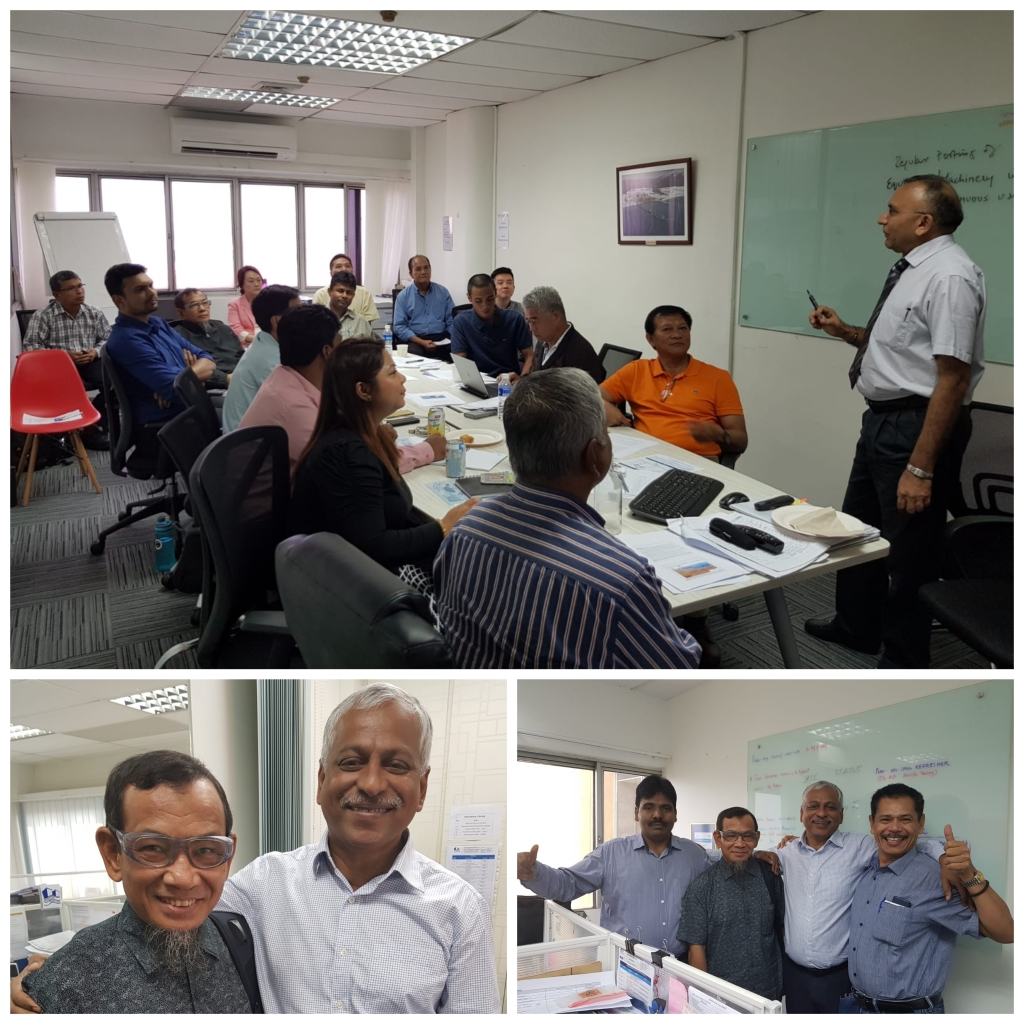 POAC's attended In-house Oil Spill Course- Oct 2018